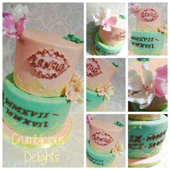 rehab cake collage